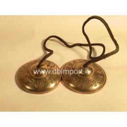 Cimbali Tibetani con Mantra in sanscrito