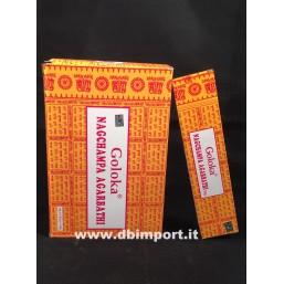 incenso Nag Champa Agarbathi- Goloka