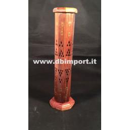 Brucia incenso in legno