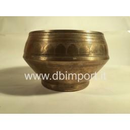 Campana Tibetana Antica Decorata
